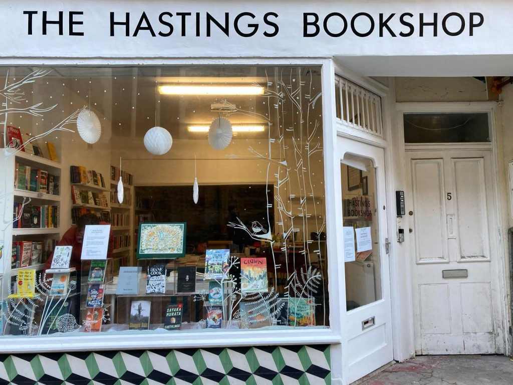 The Hastings Bookshop, exterior