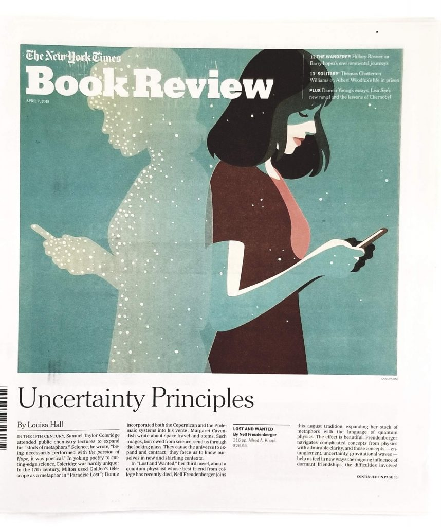 April 7, 2019 edition of the New York Times Book Review
