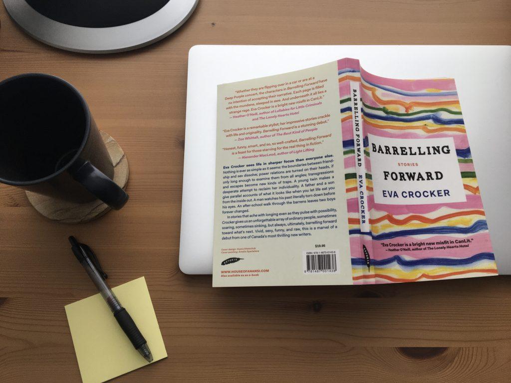 Barrelling Forward by Eva Crocker