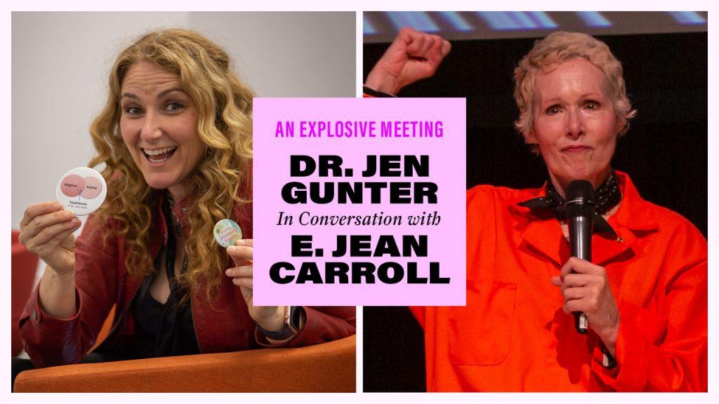 Jen Gunter and E. Jean Carroll promo photo