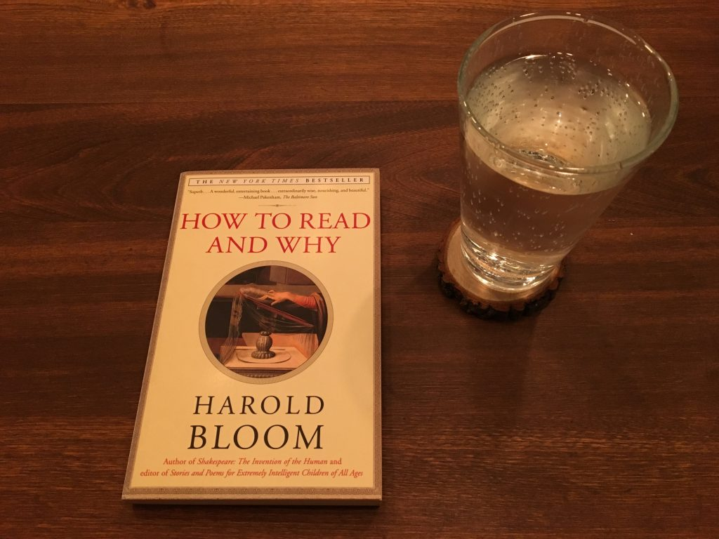 Harold Bloom, author of How to Read and Why, has died at age 89