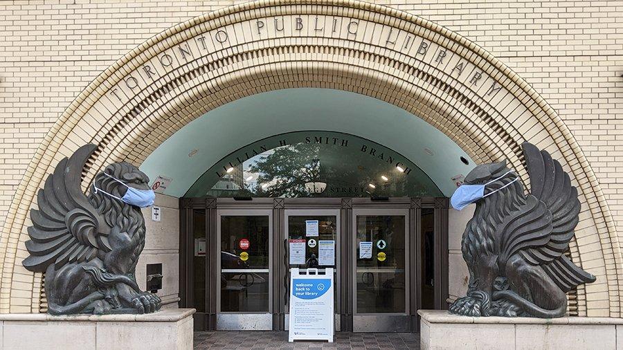 Facade of TPL's Lillian H. Smith branch