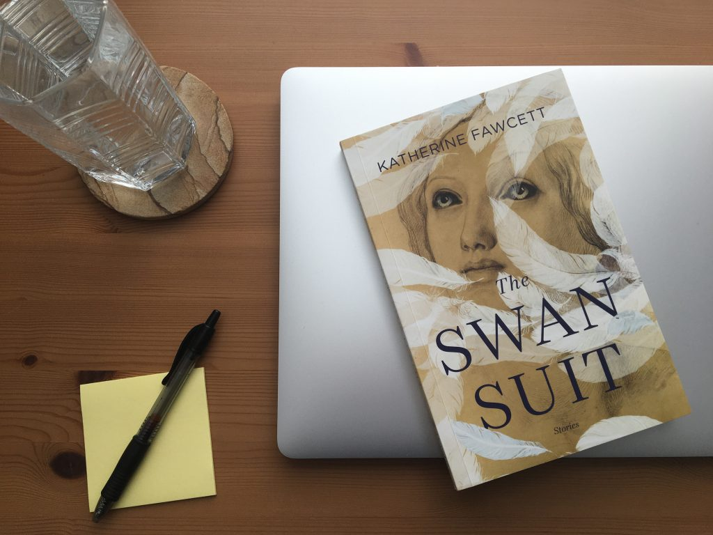 The Swan Suit by Katherine Fawcett