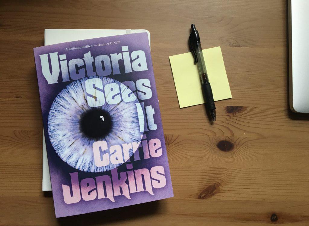 Victoria Sees It by Carrie Jenkins